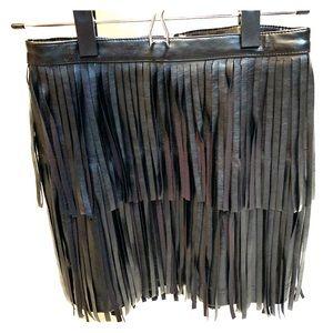 Black Fringe Skirt!!!
